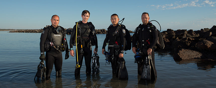 Operation Sea Gate: Underwater Exploration Team
