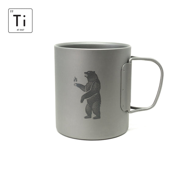Ti-Line Double Wall Mug 375ML - IGNEM FERAM