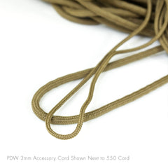 PDW 3mm accessory cord