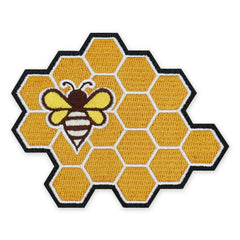 PDW Honey Bee Honeycomb Morale Patch