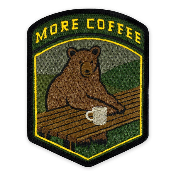 PDW More Coffee Bear Morale Patch