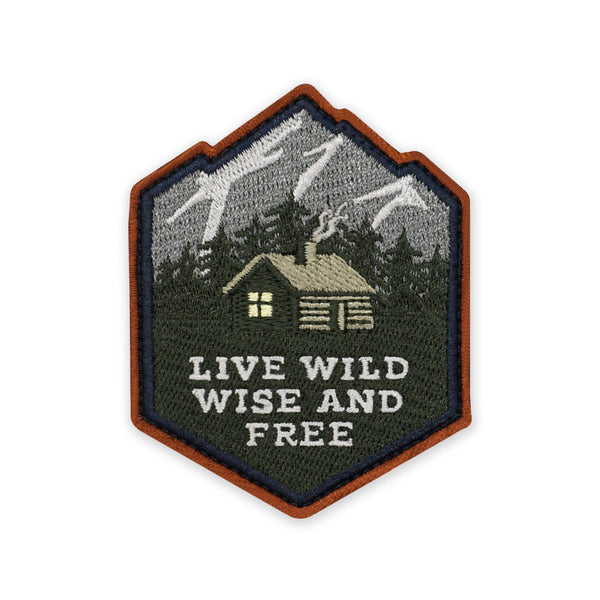 PDW Live Wild Wise and Free Morale Patch