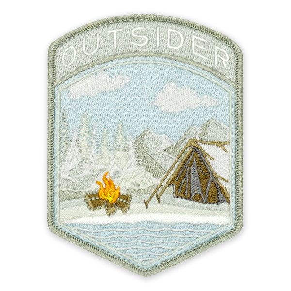 PDW Camp Outsider Winter Flash Morale Patch