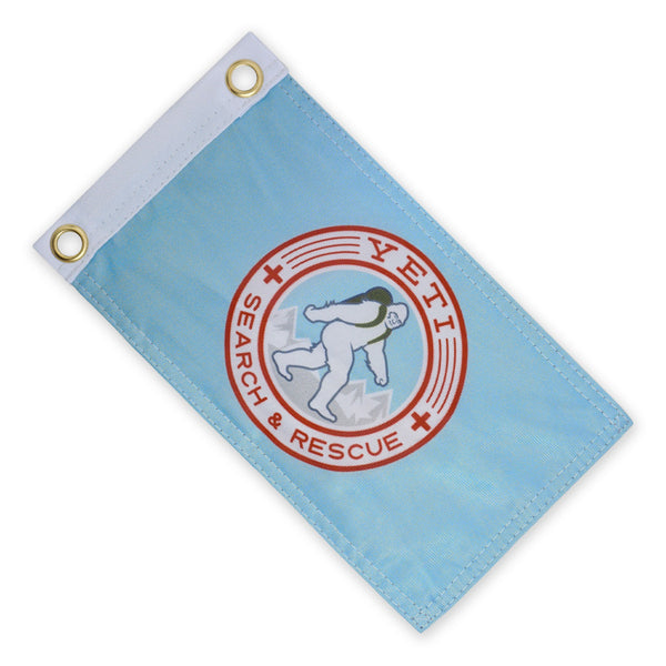 Yeti SAR Expedition Flag - Blue