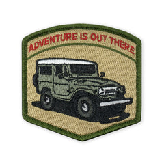 PDW Adventure is Out There FJ40 LTD ED Morale Patch