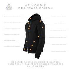 AR Hoodie DRB Staff Edition - Syth Lord Black