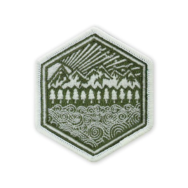 PDW All Terrain GID Green Morale Patch
