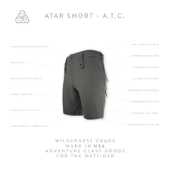 ATAR Short ATC - Machine Mineral Gray
