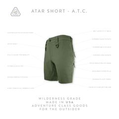 ATAR Short ATC - Transitional Field Green