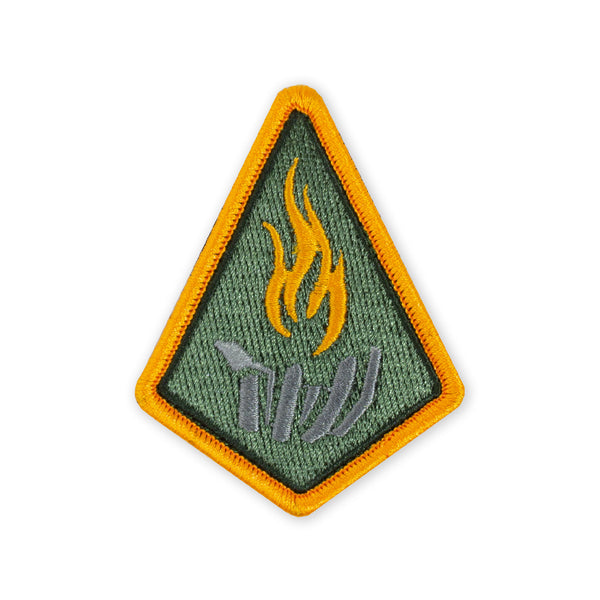 PDW Carry the Fire Badge 2019 Morale Patch