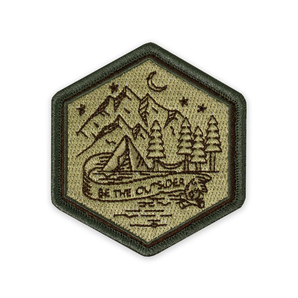 PDW Be The Outsider Campsite Morale Patch