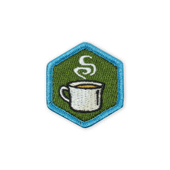 PDW Foodie Series Café au lait Mini Morale Patch