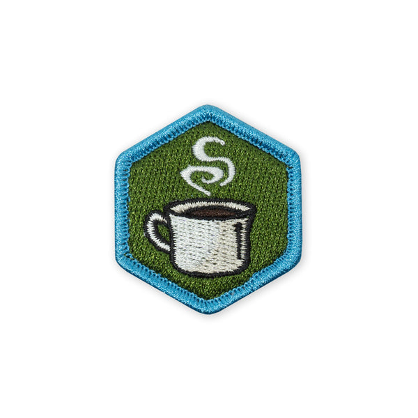 PDW Food Series Coffee Black Morale Patch