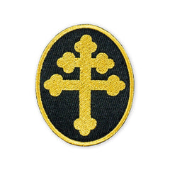 PDW Cross of Lorraine Gold Morale Patch