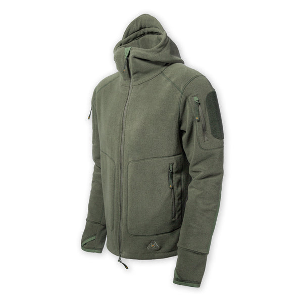 PDW DA Hoodie v2 - Heather Mountain Green