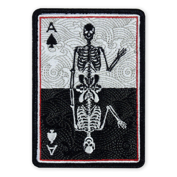 PDW Death Card Mirror LTD ED Morale Patch