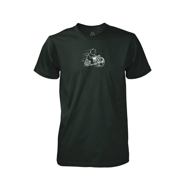 DRB Ride T-Shirt - Forest Green