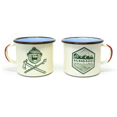 DRB Classic + All Terrain Enamelware Mugs 16oz