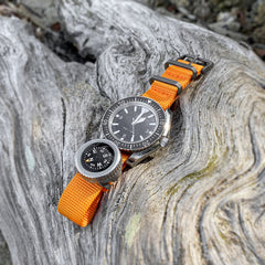 Expedition Watch Band Compass Kit TiP - Orange