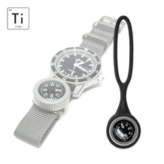 Expedition Watch Band Compass Kit Ti - Black