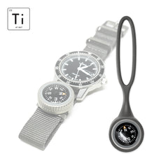 Expedition Watch Band Compass Kit Ti - Gray