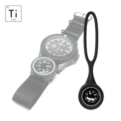 Expedition Watch Band Compass Kit Ti - PVD / Black