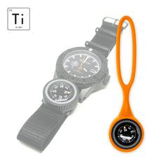Expedition Watch Band Compass Kit Ti - PVD / Orange