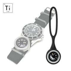Expedition Watch Band Compass Kit TiP - Black