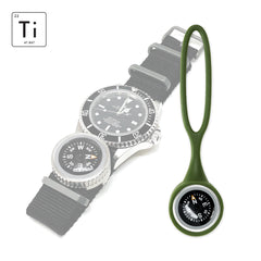 Expedition Watch Band Compass Kit TiP - OD Green