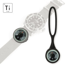 Expedition Watch Band Thermometer Kit Ti - Black - Fahrenheit