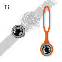 Expedition Watch Band Thermometer Kit Ti - Orange - Celsius