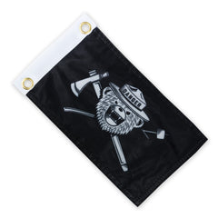 DRB Classic Jolly Roger Expedition Flag - Black