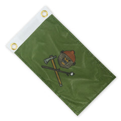 DRB Team Z Expedition Flag - OD Green