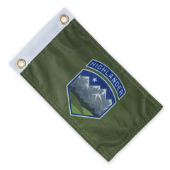 PDW Highlander Expedition Flag - Green