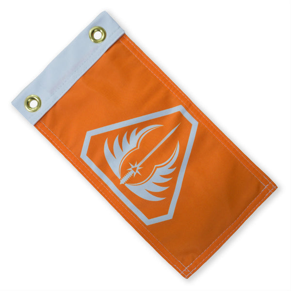 Gray Knights Expedition Flag - Orange
