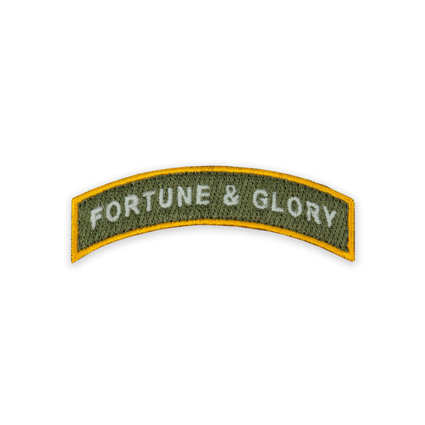 PDW Fortune & Glory Tab Morale Patch