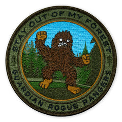GRR Sasquatch Stay Out of My Forest 2018 LTD ED Morale Patch