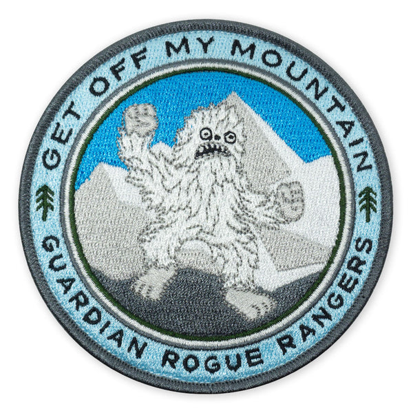 GRR Yeti Get Off My Mountain 2018 LTD ED Morale Patch
