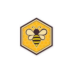 PDW Honey Bee Mini-Sticker