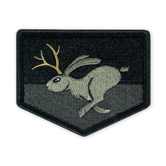 PDW High Speed Jackalope Darkness LTD ED Morale Patch