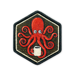 SPD Kraken Black Coffee LTD ED Morale Patch