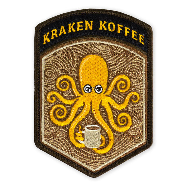 SPD Kraken Koffee Flash Morale Patch
