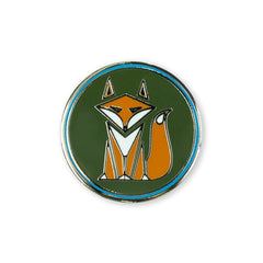 PDW Smart Fox Lapel Pin
