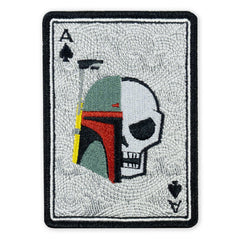 PDW May 4th 2019 Memento Mori Fett Death Card LTD ED Morale Patch