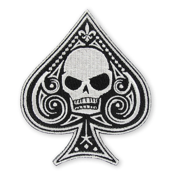 Memento Mori Ace of Spades Morale Patch - GID