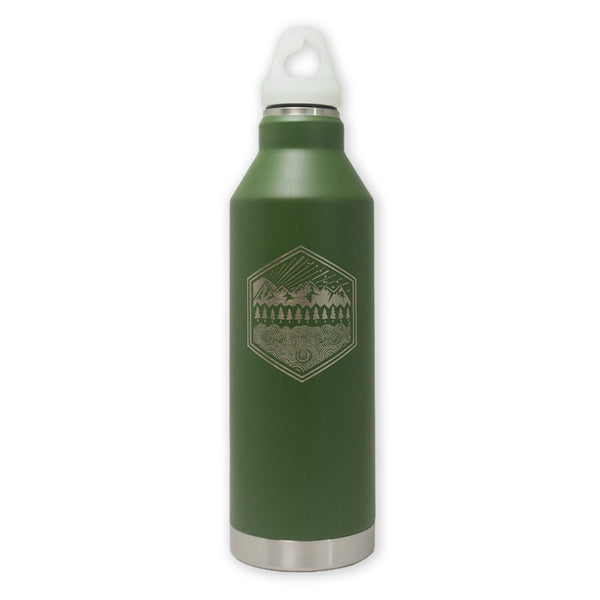 All Terrain Enduro Edition MIZU V8 OD Water Bottle with GID Cap