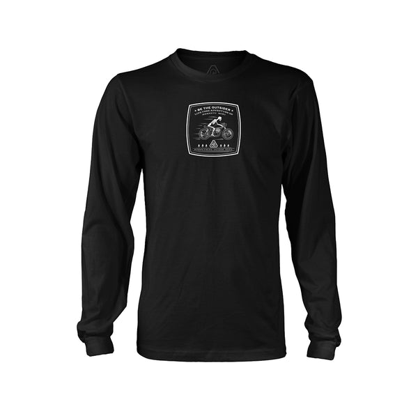 PDW Memento Mori Biker Long Sleeve - Black