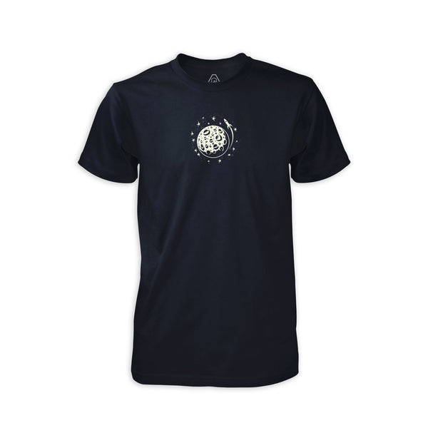 PDW Moon Mission GID T-Shirt - Midnight