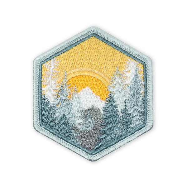 PDW Wilderness Winter Sunset LTD ED Morale Patch
