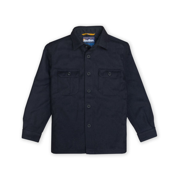 PDW Mountain Shirt - Special Edition Woolrich Navy Blue